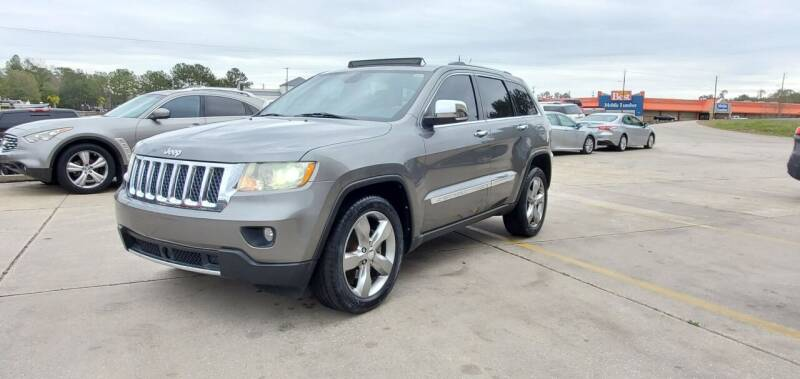 2011 Jeep Grand Cherokee for sale at WHOLESALE AUTO GROUP in Mobile AL