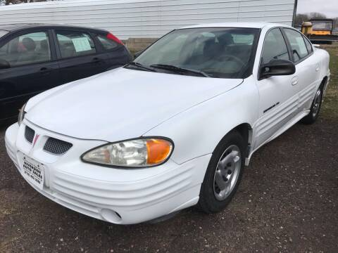 2001 Pontiac Grand Am for sale at Riverside Auto Sales in Saint Croix Falls WI