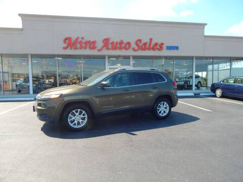 2016 Jeep Cherokee for sale at Mira Auto Sales in Dayton OH