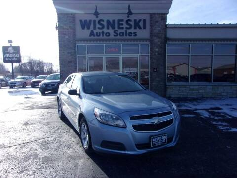 2013 Chevrolet Malibu for sale at Wisneski Auto Sales, Inc. in Green Bay WI