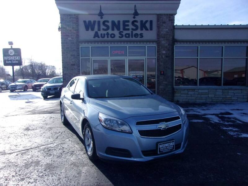 2013 Chevrolet Malibu for sale at Wisneski Auto Sales, Inc. in Green Bay WI
