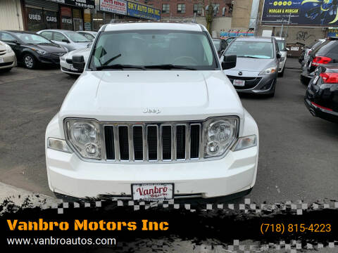 2010 Jeep Liberty for sale at Vanbro Motors Inc in Staten Island NY