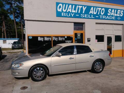 2008 Buick LaCrosse for sale at QUALITY AUTO SALES OF FLORIDA in New Port Richey FL