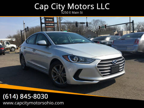 2018 Hyundai Elantra for sale at Cap City Motors LLC in Columbus OH