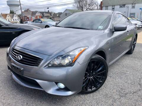 2015 Infiniti Q60 Coupe for sale at Majestic Auto Trade in Easton PA