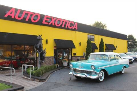 1956 Chevrolet Bel Air for sale at Auto Exotica in Red Bank NJ