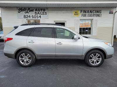 2012 Hyundai Veracruz for sale at STATE LINE AUTO SALES in New Church VA