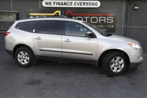 2012 Chevrolet Traverse for sale at Meru Motors in Hollywood FL
