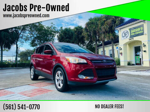 2014 Ford Escape for sale at Jacobs Pre-Owned in Lake Worth FL
