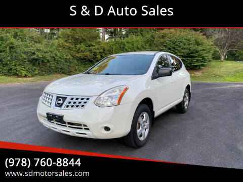 2009 Nissan Rogue for sale at S & D Auto Sales in Maynard MA