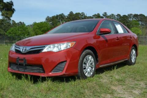 2013 Toyota Camry for sale at WOODLAKE MOTORS in Conroe TX
