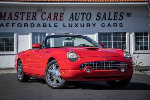 2002 Ford Thunderbird for sale at Mastercare Auto Sales in San Marcos CA