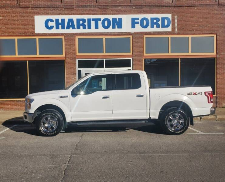 2016 Ford F-150 4x4 XLT 4dr SuperCrew 5.5 ft. SB - Chariton IA