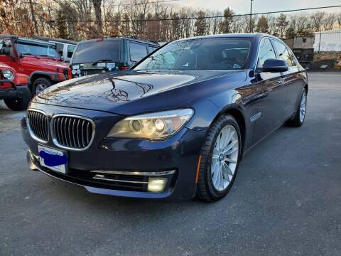 2013 BMW 7 Series for sale at MX Motors LLC in Ashland MA