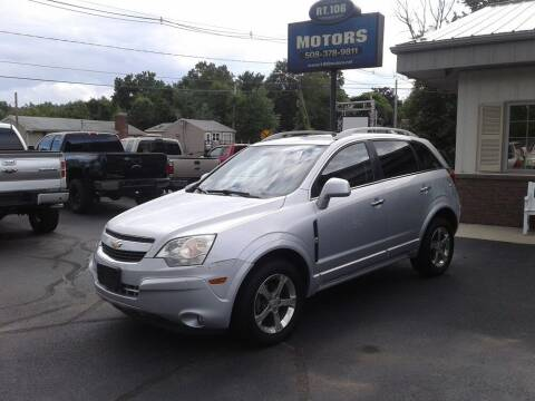 2012 Chevrolet Captiva Sport for sale at Route 106 Motors in East Bridgewater MA