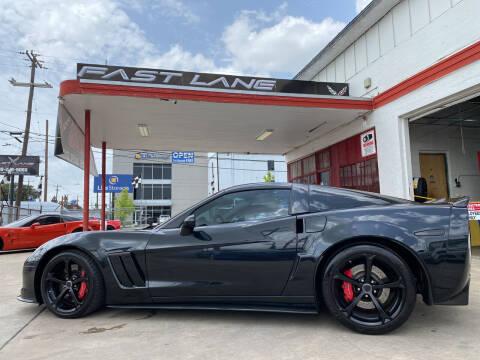 2012 Chevrolet Corvette for sale at FAST LANE AUTO SALES in San Antonio TX