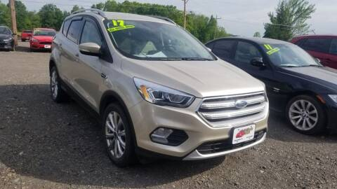 2017 Ford Escape for sale at ALL WHEELS DRIVEN in Wellsboro PA