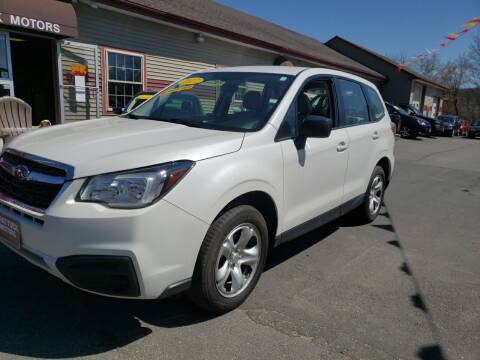 2017 Subaru Forester for sale at Shattuck Motors in Newport VT