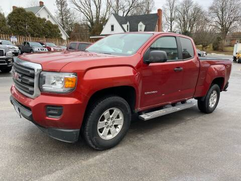 2016 GMC Canyon for sale at SETTLE'S CARS & TRUCKS in Flint Hill VA