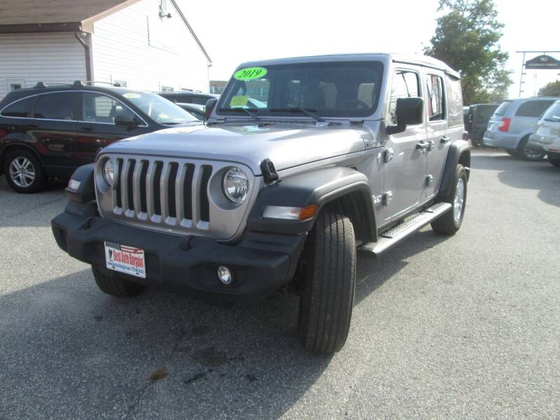 2019 Jeep Wrangler Unlimited 4x4 Sport S 4dr SUV - Lowell MA