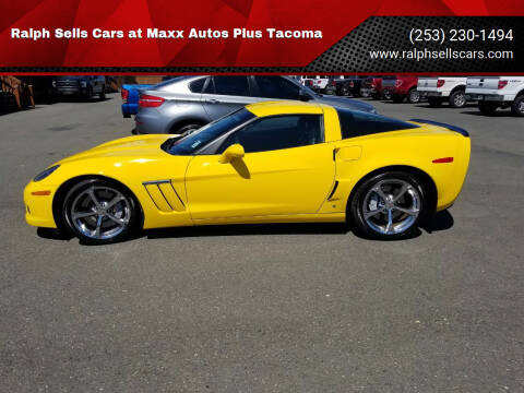 2011 Chevrolet Corvette for sale at Ralph Sells Cars at Maxx Autos Plus Tacoma in Tacoma WA