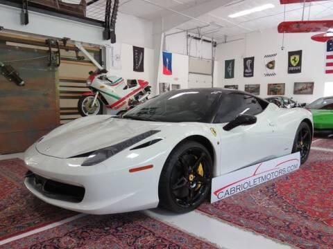 2014 Ferrari 458 Italia for sale at Cabriolet Motors in Morrisville NC