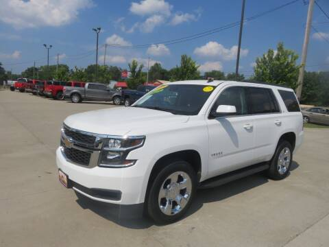 2015 Chevrolet Tahoe for sale at Azteca Auto Sales LLC in Des Moines IA
