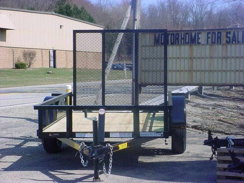 2021 Reiser 5' x 8' Utility Trailer for sale at S. A. Y. Trailers in Loyalhanna PA