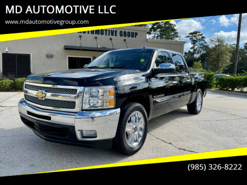 2012 Chevrolet Silverado 1500 for sale at MD AUTOMOTIVE LLC in Slidell LA