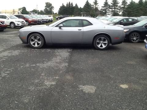 2018 Dodge Challenger for sale at Garys Sales & SVC in Caribou ME