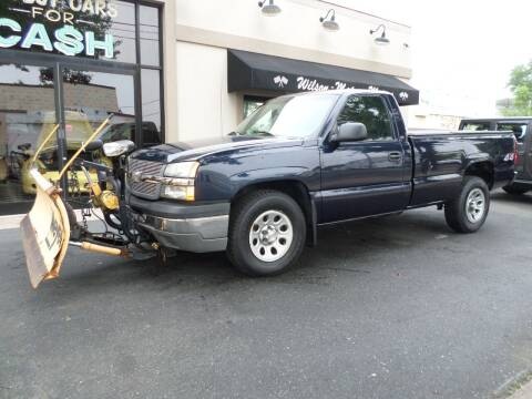 2005 Chevrolet Silverado 1500 for sale at Wilson-Maturo Motors in New Haven CT