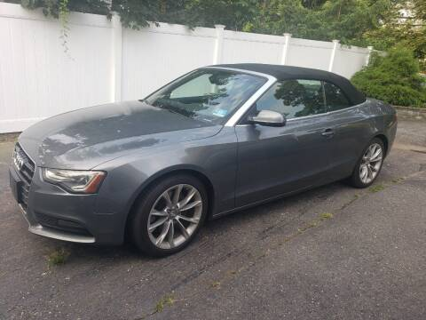 2013 Audi A5 for sale at CRS 1 LLC in Lakewood NJ