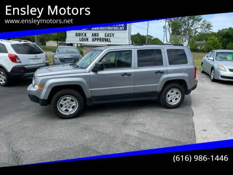 2015 Jeep Patriot for sale at Ensley Motors in Allendale MI