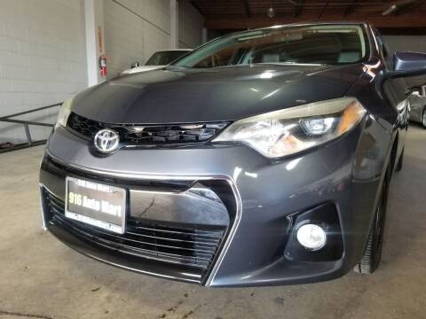 2015 Toyota Corolla for sale at 916 Auto Mart ONLY $399 DOWN!!!* in Sacramento CA