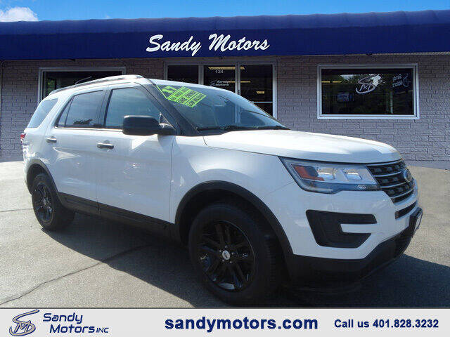 2017 Ford Explorer for sale at Sandy Motors Inc in Coventry RI