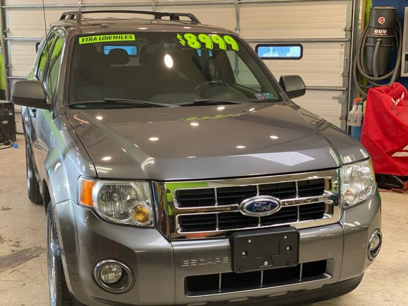2011 Ford Escape for sale at Ginters Auto Sales in Camp Hill PA