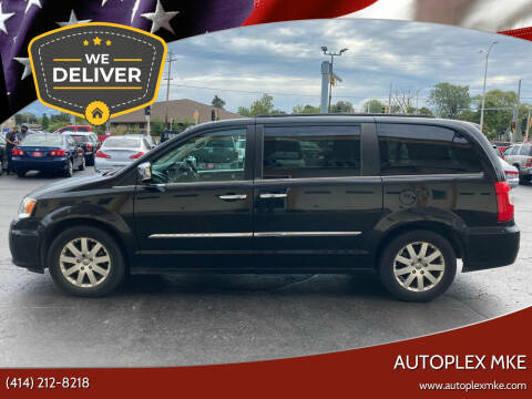2012 Chrysler Town and Country for sale at Autoplex MKE in Milwaukee WI