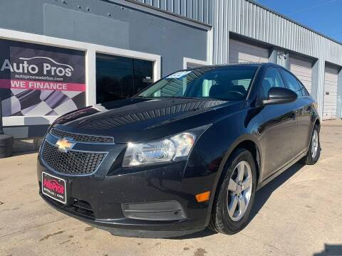 2012 Chevrolet Cruze for sale at AutoPros - Waterloo in Waterloo IA