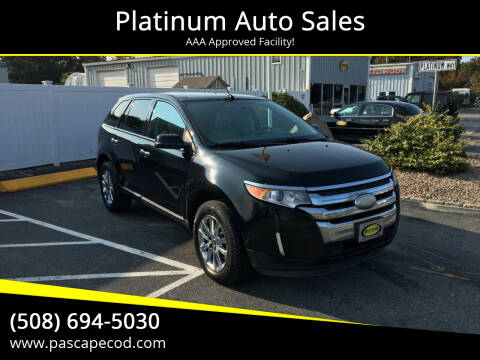 2011 Ford Edge for sale at Platinum Auto Sales in South Yarmouth MA