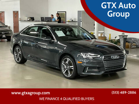 2017 Audi A4 for sale at GTX Auto Group in West Chester OH