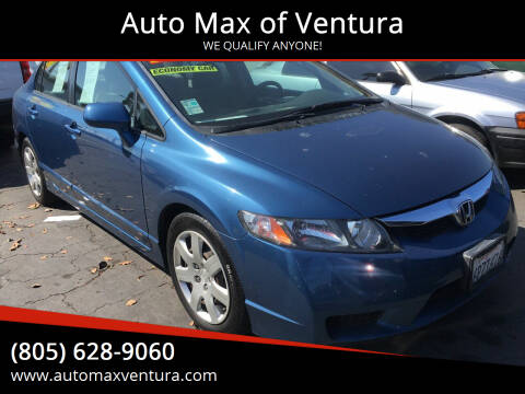 2011 Honda Civic for sale at Auto Max of Ventura in Ventura CA