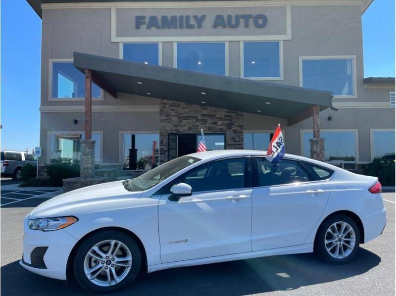 2019 Ford Fusion Hybrid for sale at Moses Lake Family Auto Center in Moses Lake WA