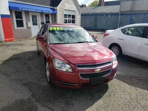 2009 Chevrolet Malibu for sale at TC Auto Repair and Sales Inc in Abington MA