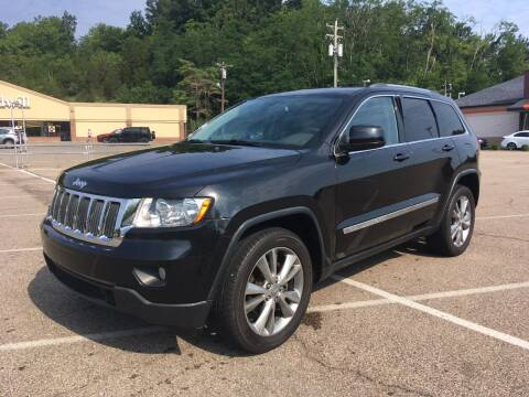 2013 Jeep Grand Cherokee for sale at Borderline Auto Sales in Loveland OH