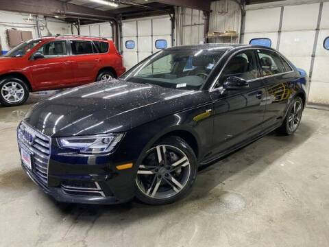 2017 Audi A4 for sale at Sonias Auto Sales in Worcester MA