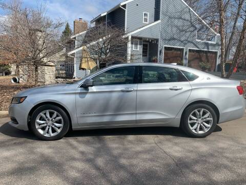 2016 Chevrolet Impala for sale at You Win Auto in Metro MN