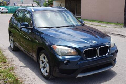 2014 BMW X1 for sale at SUPER DEAL MOTORS in Hollywood FL