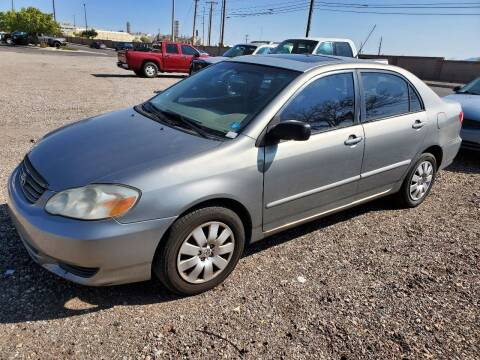 2004 Toyota Corolla for sale at DPM Motorcars in Albuquerque NM