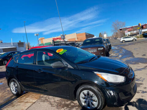 2017 Hyundai Accent for sale at Sanaa Auto Sales LLC in Denver CO
