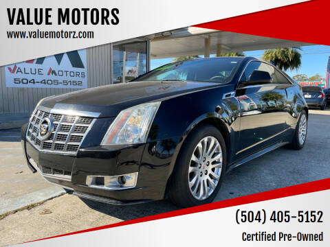 2011 Cadillac CTS for sale at VALUE MOTORS in Kenner LA